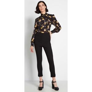 ModCloth A Chic Start Pants in Black